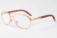 Nuevas gafas de sol de gran tamaño grande de moda Mujeres Diseñador de marca buffalo cuerno gafas tornillo de madera de la pierna de gafas oval eyewear oculos