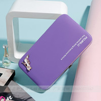 Wholesale Womens Wallets Purses Famous Brand Designer Coin Credit Card Holder Leather Luxury Wristlet Small Money Clip Wallet Phone Bag