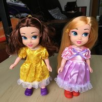 Wholesale Children Gift Princess quot Long Hair Dolls for Girls Stuffed Toys Plush Action Figures