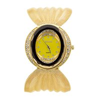 auto defect - Luxury watches the latest Wristwatches fashion watch hotselling Fashion Wide bracelet watch diamond studded alloy women watch pics