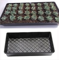 Nursery Pots bean coat - cm Rectangle Bean Sprout Growing Tray PP Plastic Garden Nursery Seedling Plate Your Best Choice