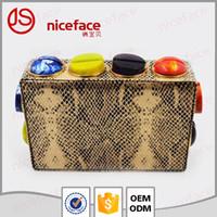 Dongguang Ville Jiashun Parts,. Ltd Customized cuir embrayage Lady sac de soirée sac d'embrayage Meilleur prix Mode élégant paquet de vacances