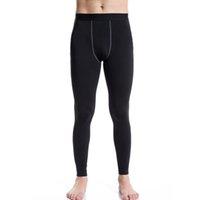 baselayer thermal - Men Thermal Trousers Long Johns Warm Underwear Baselayer Tight Pants Winter