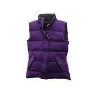Wholesale Cotton Down Vests - Canada Brand Women Freestyle Vest Lightweight Softness Breathable Goose Down Coat Outdoor Portable Versatile Protection Windproof Outerwear