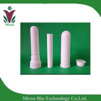 aromatherapy inhaler - Self Fill Aromatherapy Nasal Inhaler Blank Nose Inhaler Tube Sticks parts high quality cotton wicks
