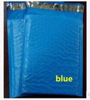 Precio de Acolchada electrónico-18.5x23 + los 4cm 50pcs Bolso polivinílico plástico de la burbuja acolchó los bolsos de envío / bolsos a prueba de choque del mensajero del color azul