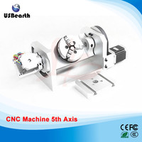 Wholesale CNC lathe machine part axis and th axis with chuck and table for cnc router machine