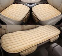 Wholesale car monolithic seat cover cushion winter keep warm floss cushion pc or set
