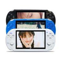 Dual rocker control 4.3inch écran enfants classique de poche numérique écran vidéo V8 console de jeu pour les enfants