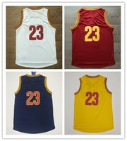 Wholesale Red Yellow Navy blue White Throwback Stitched Jersey Discount Cheap Basketball Jerseys High Quality Basketball Jersey tops
