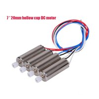 aircraft parts - 4psc mm Motor hollow cup Applicable model aircraft X5C X5S V