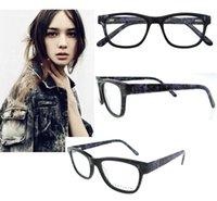 Wholesale Spectacle Frames Lady - 2016 Brand Design Eyeglasses Frames Women Men Lady Computer Reading Eye Glasses Optical spectacle Frame B04305