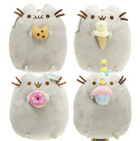 Wholesale quot Hot selling quot Different styles CM Pusheen Cookie Icecream Doughnut Cat Plush Stuffed Animal Doll Toy