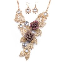 Wholesale Necklace earring sets Jewelry Party jewelry sets Friends Gift Christmas Gift