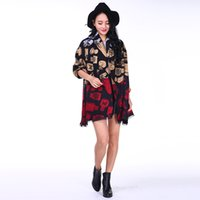 active air conditioning - 2016 scarf scashmere of new fund of autumn winters is pure and fresh and sweet printed scarf Super warm dual use air conditioning shawl C