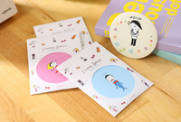Wholesale Creative cartoon small mirror portable cosmetic mirror gift Customize Gift