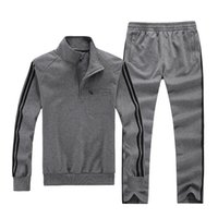 Wholesale Men Fitness Sportswear Running Sets Spring Big Size XL XL XL XL XL Tracksuits Jogging Jogger Suits Gym Clothing