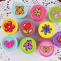 Wholesale Self ink Stamps Kids Party Favors Supplies for Birthday Christmas Gift Boy Girl Goody Bag Pinata Fillers Fun Stationery
