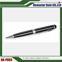 Wholesale HD camera pen Spy Pen Camera HD Video DVR Recorder Hidden USB SpyCam Hidden Camera Pen With Covered Hidden Lens