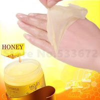Wholesale wax iron Honey Hand Peel Off Mask Remove Dead Skin Beauty Products Membrane Whiten Chamfer Moisturizing Hand Wax Hydrating