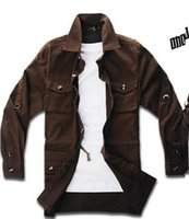 Wholesale Men s winter camouflage Europe and the United States han edition of high grade fine dust coat big yards tooling coat M XL