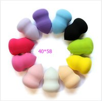 Wholesale Makeup Foundation Sponge Blender Blending Cosmetic Puff Flawless Powder Smooth Beauty Make Up Tools big size mm