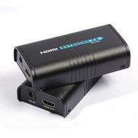 al por mayor enrutador inalámbrico tv-Transmisor inalámbrico HDMI Adaptador Transmisor de red HDMI Sender Receptor Modelo para Cat5 CAT6 Cat5e TV Router