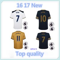 best quarters - best quality White blue gold Kane Lamela jerseys home away Quarter adults jerseys