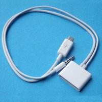audio pin converter - Micro USB to Pin for iPhone S Dock mm Audio Adapter Converter Charger Cable