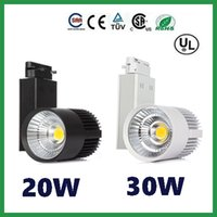 Wholesale Led Track light W W COB Track lamp AC85 V Indoor lighting for Store light Spotlight rail Warm Cold White Years Warranty