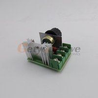 Wholesale V W Speed Controller SCR Voltage Regulator Dimming Dimmers Thermostat