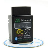 Code Reader advance adapters jeep - 2017 New Design HH OBD Advanced MINI ELM327 v2 Black Bluetooth OBD2 Car CAN Wireless Adapter Scanner Tool