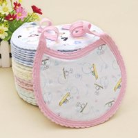 Wholesale Baby Bibs Cotton Lunch Infants Kids Bibs Towel Saliva Baby Kids Infants Cute Bibs Printed Bibs MC0444