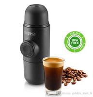 Wholesale Hot sale Arrival Manual New Portable Coffee Maker Manually Hand Pressure Portable Espresso Machine Coffee Pressing Machine