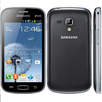 Wholesale Original Samsung GALAXY Trend Duos S7562i Cell Phone Inch TFT Screen G ROM Android OS WIFI GPS Blluetooth G WCDMA Unlocked Phones