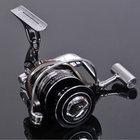 Wholesale The metal line wheel12 BB Speed Ratio Metal Spinning Fishing Reel EF1000 Ocean Sea Boat Ice Fishing tackle Aluminum FISHING REEL
