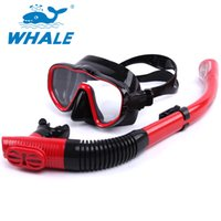 Wholesale Whale Freediving Adjustable Diving Set Unisex Diving Underwater Activities MSK