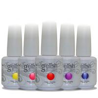 Wholesale 2016 New arrival Nail Polish Gelish Multi color Light therapy QQ nail polish High quality DHL