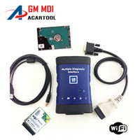Wholesale 2016 New arrival Diagnostic tool for GM MDI scanner for gm mdi wifi with hdd software High Quality DHL