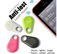 Wholesale 2017 Hot sale Mini Smart Finder Bluetooth Tracer Pet Child GPS Locator Tag Alarm Wallet Key Tracker