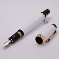 Wholesale Luxury monte Brand Bohemia Series Pen School Office Stationery Fountain Pen With Gem Metal Writing Ink Pens AAA Quality