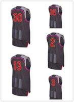 Wholesale 2017 New All Star Kevin Duran Stephen Curry Jerseys James Harden Kawhi Leonard Dwyane Wade Jersey Stitched