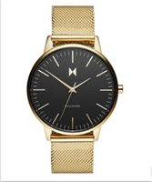 auto simplicity - 2017 the MVMT Wire strap brand men watch simplicity classic wrist watch Fashion Casual Quartz cluse style high quality women watches