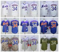 Wholesale Noah Syndergaard Hot Men s New York Mets Noah Syndergaard Majestic New York MLB Embroidery Baseball Jerseys Best quality Mix Order