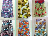 Wholesale A11 latest fashion design African block Printed veritable super Wax hollandais for nigerian garment yard