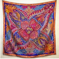 Precio de Mejores bufandas de moda-La venta caliente 140 cm 55 pulgadas de la mejor mano de la calidad rodó el envío libre de la bufanda de la manera de DHL