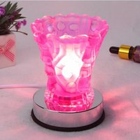Wholesale Crystal Scent of Lights Fragrance Lamp Fragrance Light Sweet lamp Air purifying lamp G5 Induction Aromatherapy Lights