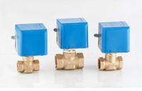 Wholesale price Ways V DN15 Electric Globel Valve