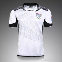 Wholesale Thai quality New Zealand Jerseys New Fiji Rugby Sevens Olympic Shirt Fiji s Jersey Fiji Rugby Jersey Super Rugby