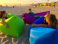Wholesale DHL NEW TV Inflatable Lounger Inflates In Seconds Lightweight Packable Carry Bag Included for Outdoors Camping Beach Festivals